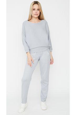 Вязаный костюм Soft-Look светло-серый
