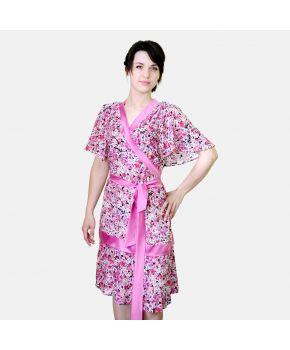 Женский халат в цветочек Прованс