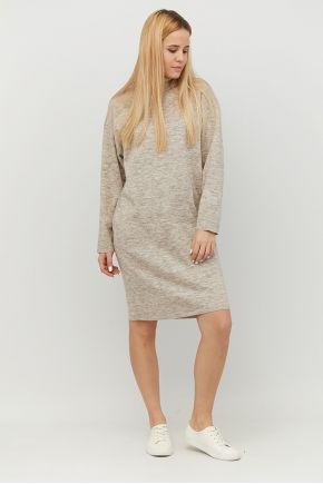 Платье вязаное DREAM латте