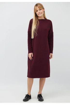 Платье вязаное Марго божеле