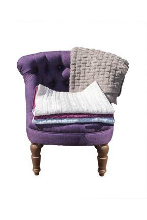 Кресло баклажан