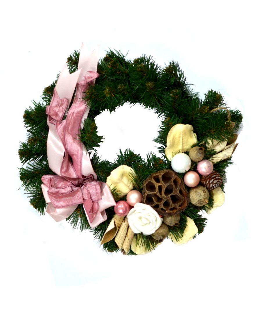Рождественский венок ROZ OPAL