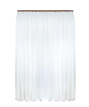 Тюль белый батистовый Allure, 1 ед