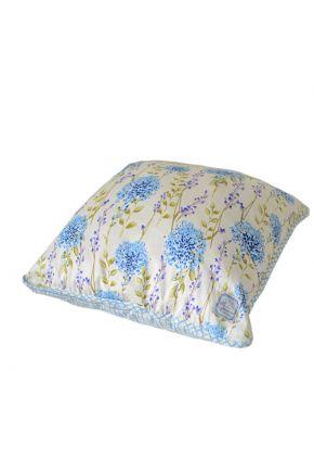 Декоративная подушка Дача Сиреневая клетка