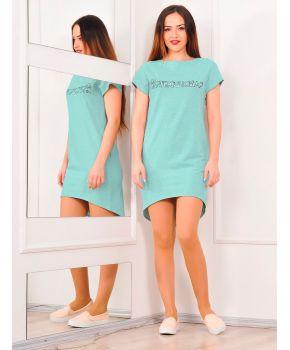 Платье #ЯЛЮБИМАЯ мята Прованс by AndreTAN