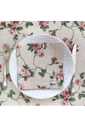 Салфетка на стол Глория Цветы