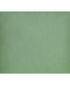 Ткань для столового текстиля 3320146/132003 T''LH''HALF PANAMA 280 3-VERDE D35 Зеленый однотон