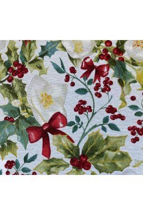 Ткань для столового текстиля 360818/1 LONETA SUPER ECO шир. 280 CM Ягодка