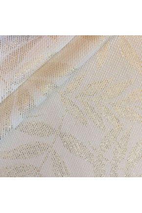 Ткань для столового текстиля JACQUARD ALCEA ORO Эльза Молочное золото