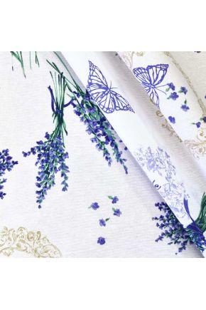 Ткань для столового текстиля LIVING лаванда 341314/1000