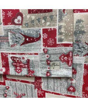 Fabric for table textiles 30127/3200 LONETA SUPER ECO