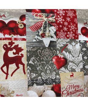 Fabric for table textiles 3203396/150010 TJ''LT''KOLARI шир. 280 10-ROJO Holiday
