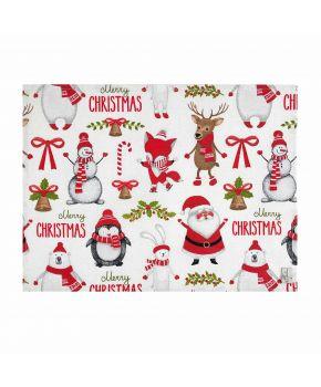 Fabric for table textiles 3203213/150092 TJ''LT''VINSON шир. 280 92-VERMEL