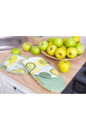 Рукавица для кухни Яблочки большие