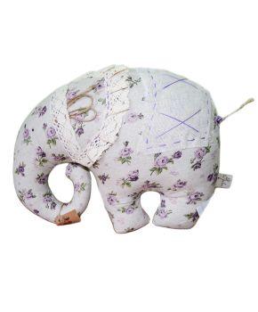 Декоративная подушка слон Lilac Rose