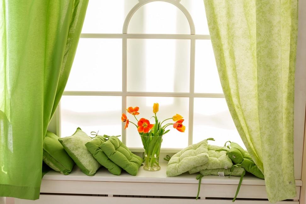 Дизайн штор на кухню Provenceshop