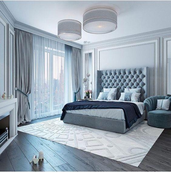 Дизайн спальни в английском стиле Provenceshop