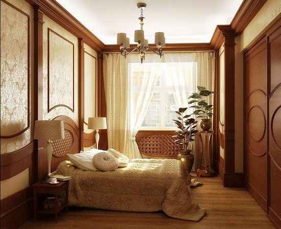Дизайн спальни в классическом стиле Provenceshop