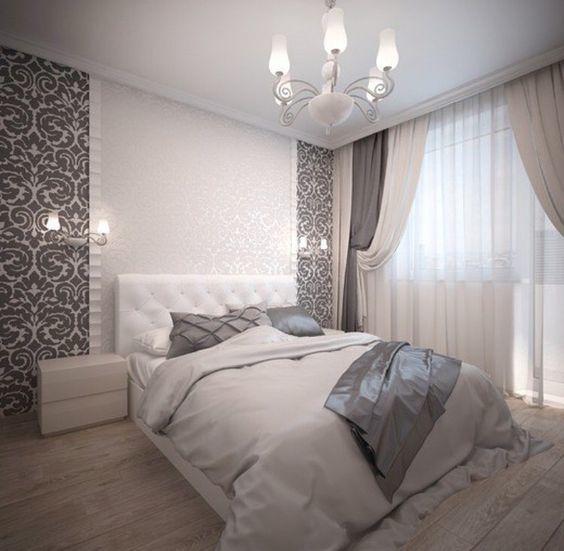 Дизайн спальни в спокойных тонах Provenceshop