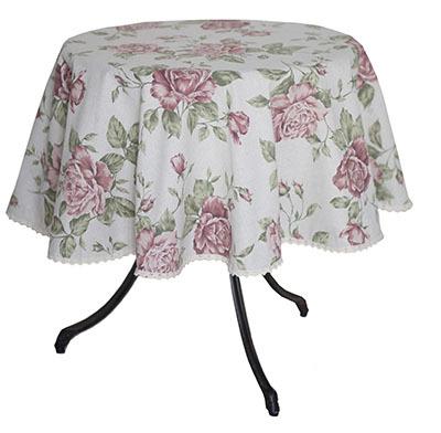 Скатерти на круглый стол в магазине текстиля ПровансШоп